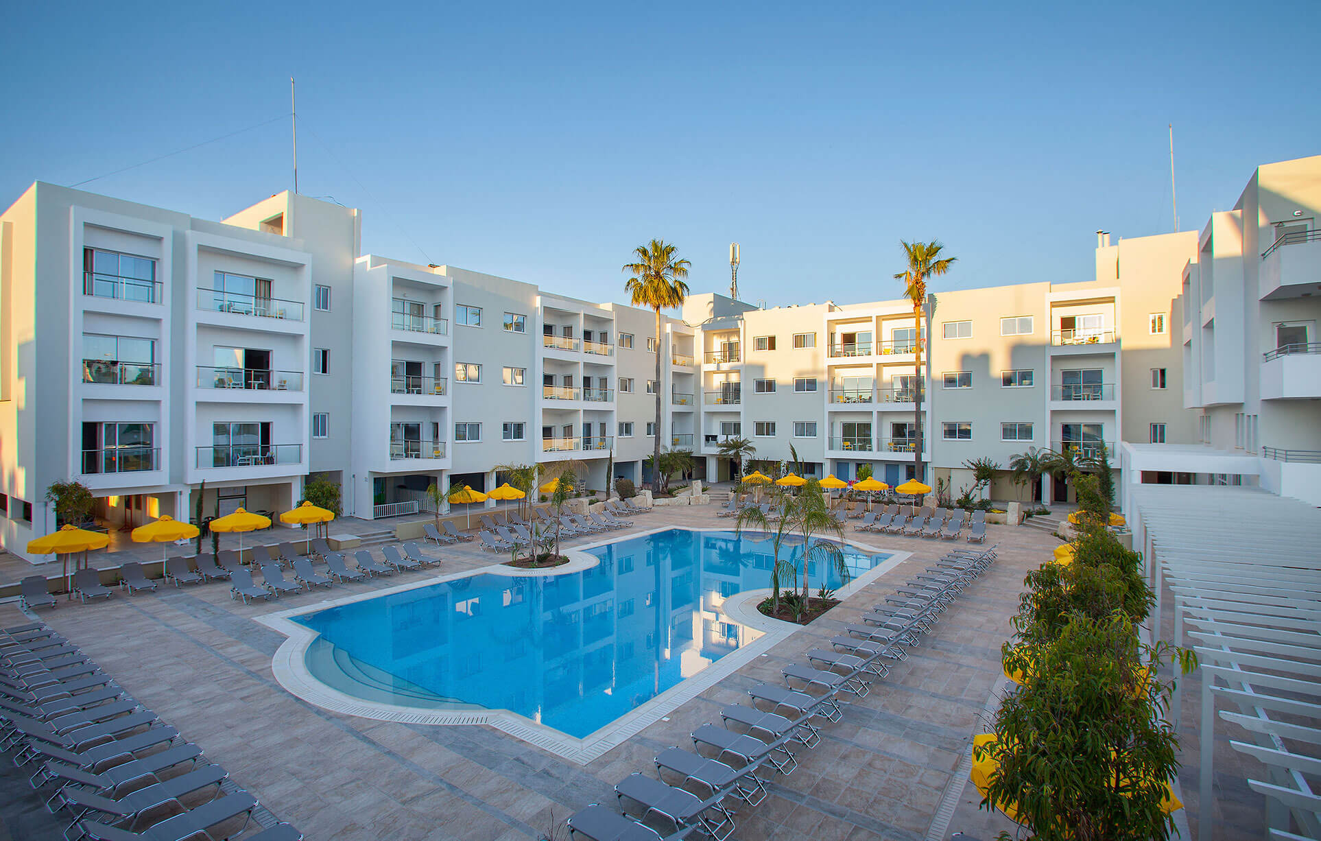 mayfair hotel in paphos pool